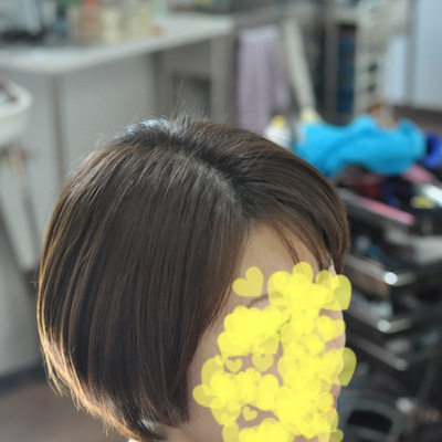 ストパン縮毛矯正ショートボブスタイルプリティー奥様の記事に添付されている画像