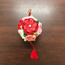 お花のくす玉の記事に添付されている画像