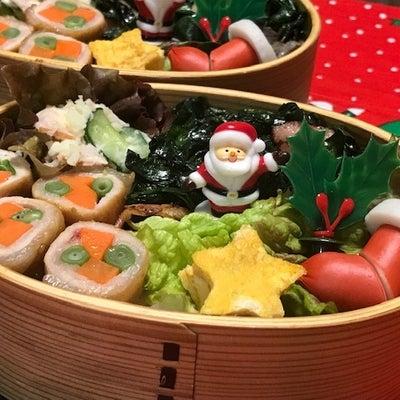 クリスマスVer.のお弁当とランチクロスの記事に添付されている画像