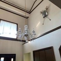 玄関ホールのシャンデリア磨きの記事に添付されている画像