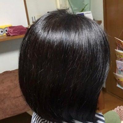 くせ毛の髪の石臼挽きヘナ染めの記事に添付されている画像