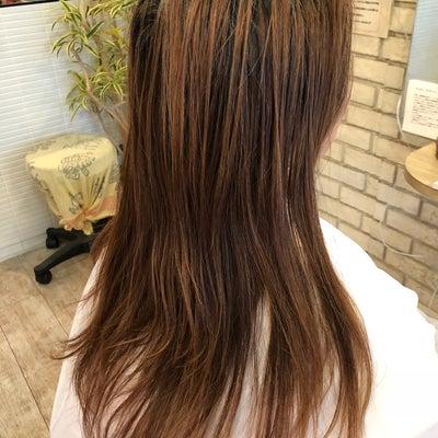髪質改善 細胞再生 縮毛矯正&カラーの記事に添付されている画像