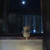 深夜のお月見の記事に添付されている画像
