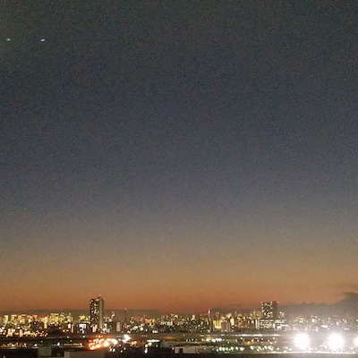 夕暮れの風景の記事に添付されている画像