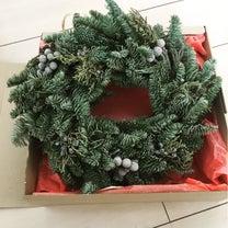 Christmas wreathの記事に添付されている画像