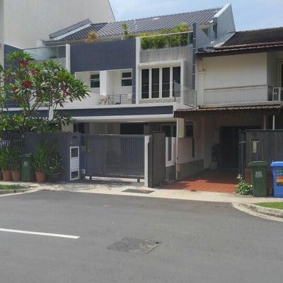 シンガポールの富豪の家の記事に添付されている画像