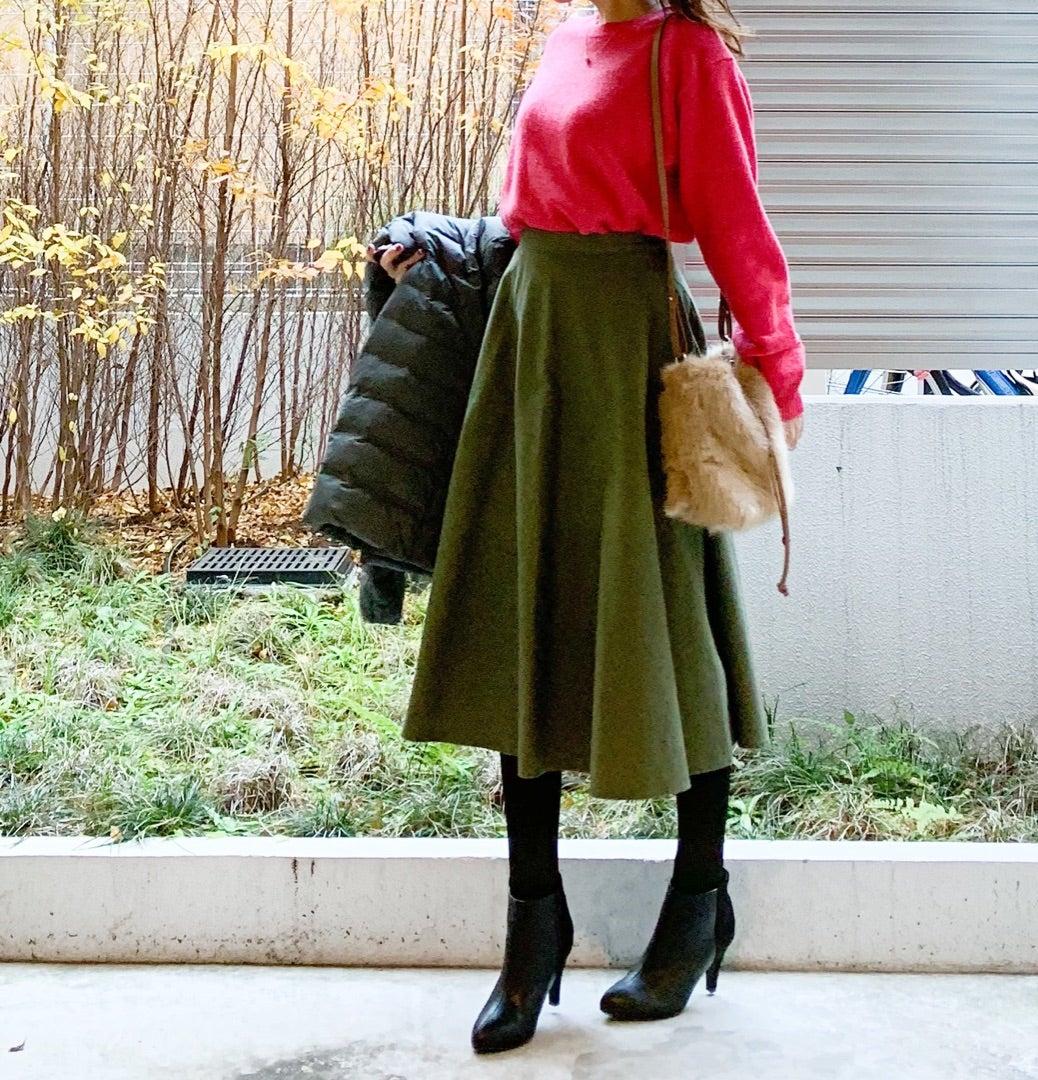 UNIQLO オンラインで売り切れていた鮮やかピンクセーター (^ ^)