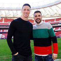 フェルナンド・トーレス選手&ダビド・ビジャ選手が、揃ってアトレティコ・マドリードの記事に添付されている画像