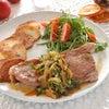「薄切りステーキ〜オニオンガーリック春菊ソース〜」 と「クリスマス間近なイギリスだより」の画像