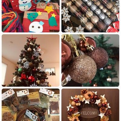 クリスマス準備の記事に添付されている画像