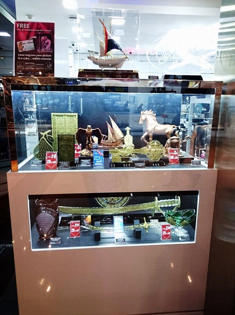 Dubai☆Dubai Fountain☆首長と目が合う⁉️動画有☆The Dubai Mall