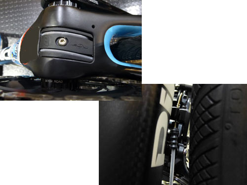 PINARELLO 2018 ROADBIKE GAN RS SHIMANO ULTEGRA 11s assembly SHIFT WIRE LINER ピナレロ 2018年モデル ロードバイク ガン アールエス シマノ アルテグラ 11スピード 完成車 組立 シフトワイヤー ライナー処理