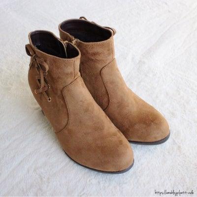 【しまパト】30%オフ!トレンドデザインに一目惚れ♡冬ブーツ♪の記事に添付されている画像