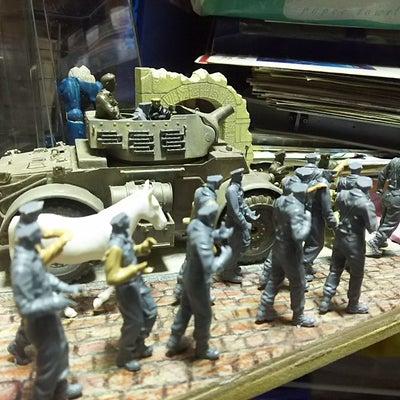 タミヤ イギリス歩兵巡回セット 2回目の記事に添付されている画像