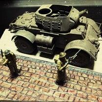 タミヤイタレリ スタッグハウンド改造 T17E3 ②の記事に添付されている画像