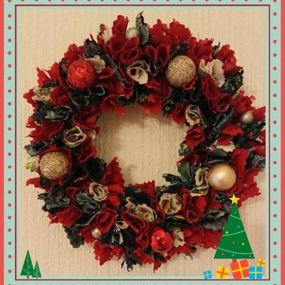 Merry Christmas。・゜゜完成した作品の記事に添付されている画像