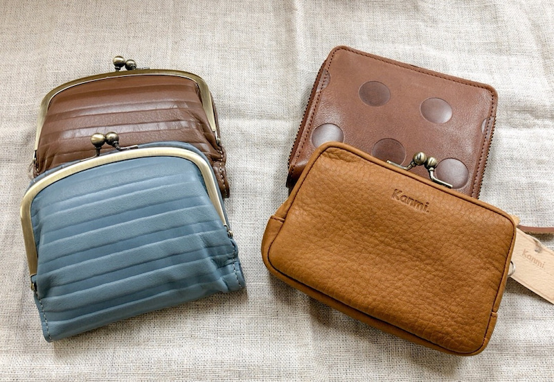 pretty nice 3f57e 76a40 ポケットや小さいバッグにさっと入る、kanmiの小さめお財布たち ...