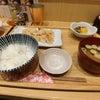 パフェの前に餃子定食@一口餃子専門店 赤坂ちびすけの画像