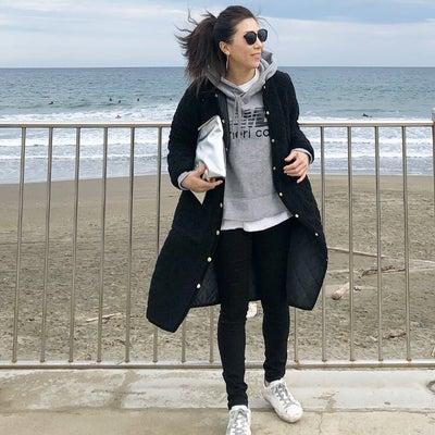 ボアコートにパーカー♡の記事に添付されている画像