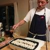 keiくん邸で、餃子&シルバーハイボールパーティー♪パクチー筍ダレとトマトダレの味変も最高!の画像