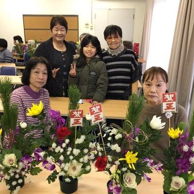 習志野市秋津の「団地中央自治会」さんでフラワーレッスンの記事に添付されている画像