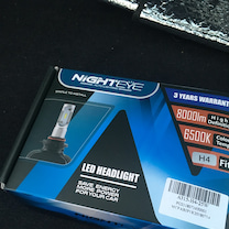 LEDヘッドランプつけてみた。の記事に添付されている画像