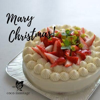 グルテンフリー米粉クリスマスケーキをお届けしましたの記事に添付されている画像