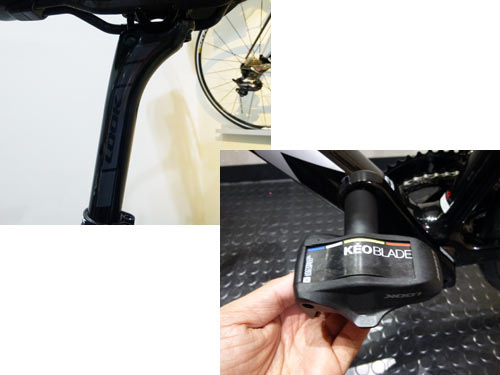 LOOK LS1 CARBON SEATPOST GLOSSY KEO BLADE PEDAL PROTEAM ルック カーボン シートポスト グロッシーカラー ケオ ブレード ペダル プロチーム