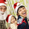 3人でメリークリスマス( ^ω^ )の画像