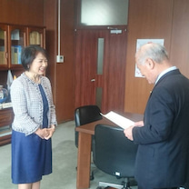宮崎市議会議員を辞職して新しいステージへの記事に添付されている画像