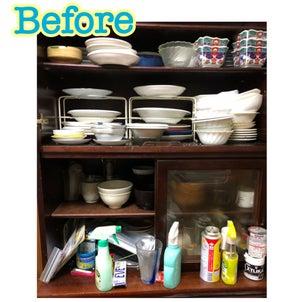 買い換えるつもりの食器棚が使える状態に早変わり✨の画像