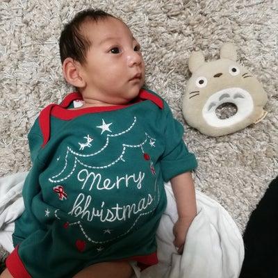 出産日の続きに入る前に。。せっかくなのでXmasの写真でも。。。の記事に添付されている画像