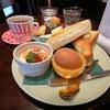 純喫茶なお店で厚切りバタートースト@フロールの画像