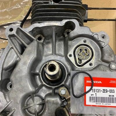 ホンダHSS1170iエンジンオイル漏れ修理の記事に添付されている画像