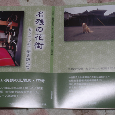 「名残の花街」北関東編1月15日発売! 東京編 発売中!の記事に添付されている画像