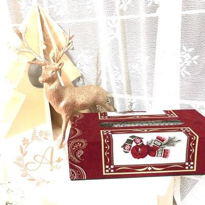 * カルトナージュ * ティッシュボックス ~ winter garden ~の記事に添付されている画像