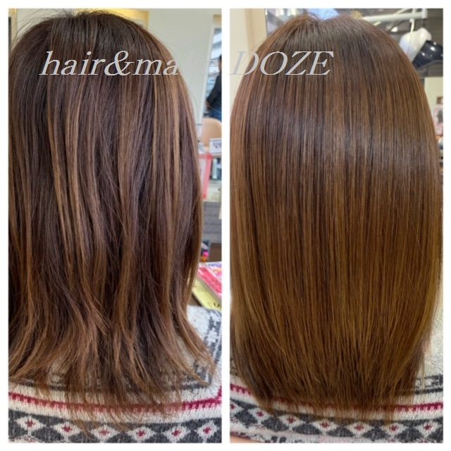 長年のカラーで髪のダメージが!とお悩みの方、髪質改善プレミアムトリートメントはいかがですか?