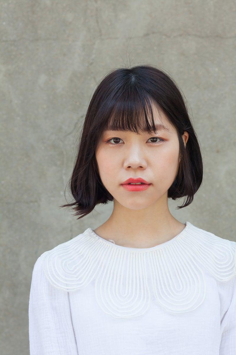 韓国ヘアスタイル キュートボブのデジタルパーマ Cカル韓国女子ヘア