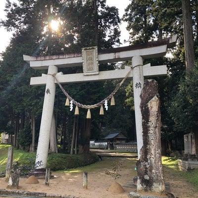 全国一宮巡拝22 但馬国①「粟鹿神社」の記事に添付されている画像