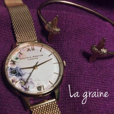プチプラウォッチ(๑˃̵ᴗ˂̵) 今一番のお気に入り♡ オリビアバートンの時計♡の記事に添付されている画像