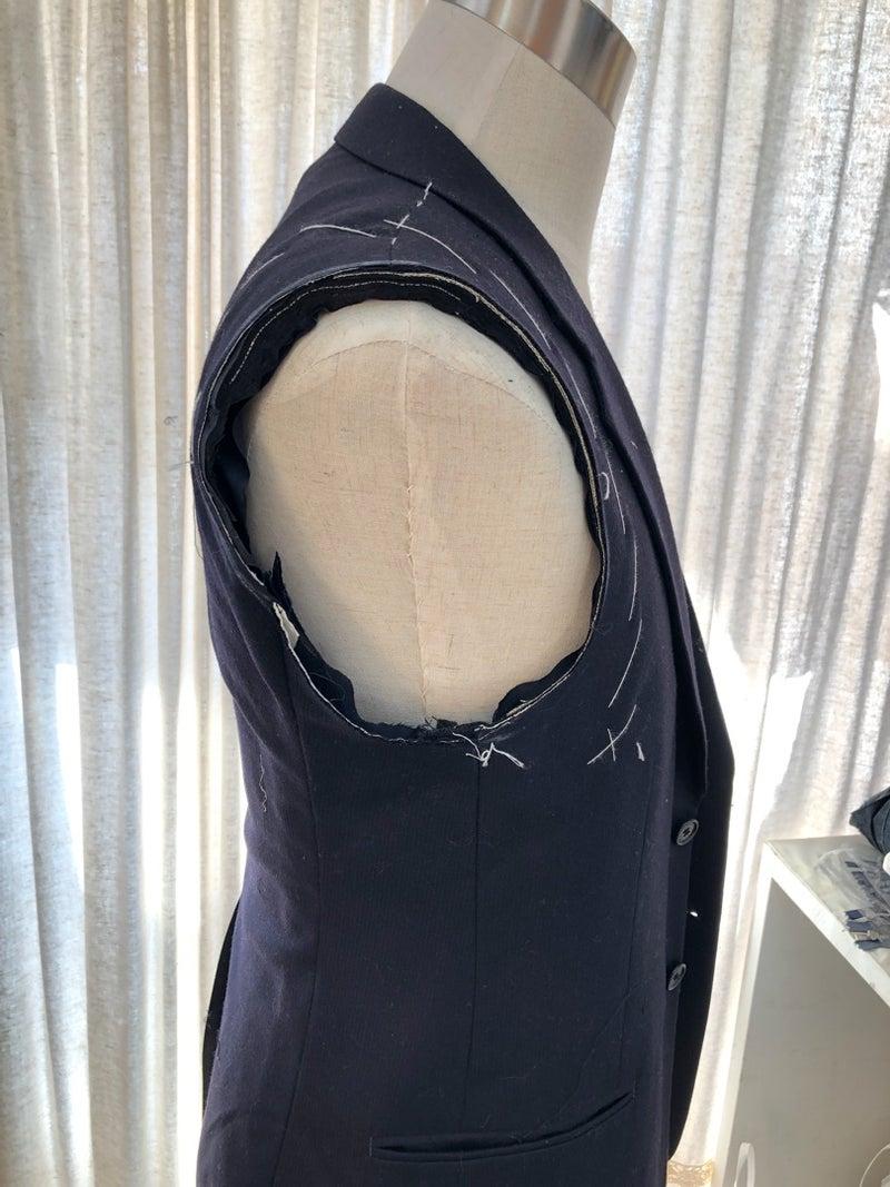 ジャケット【肩詰め・身幅詰め・アーム調整】