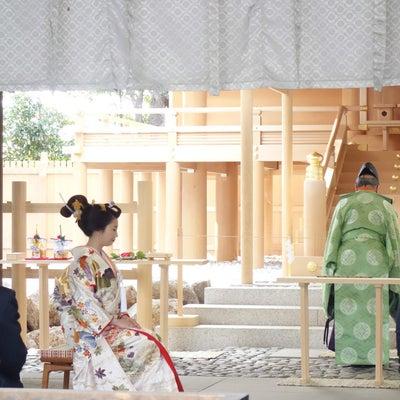 結婚式出張ヘアメイクBlog/  伊勢山皇大神宮の美しい地毛結い文金高島田の記事に添付されている画像