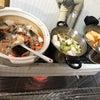 仕事納めで鍋料理。お疲れ様!の画像