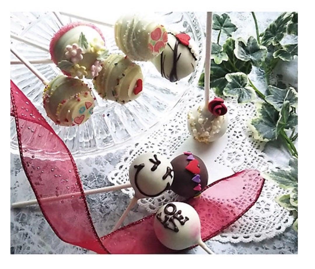 告知【三越カルチャーサロン】2/2★1日・短期講座バレンタイン♡ポップケーキの記事より