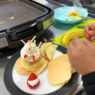 [教室れぽ] にじいろクラス 12月 ハワイアンパンケーキの記事より