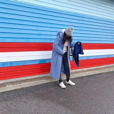 防寒+こなれ感の靴下コーデで極寒遊園地へ!の記事に添付されている画像