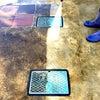 駐車場コンクリート洗浄の画像