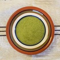 ある日の朝食は、好物のスープの記事に添付されている画像