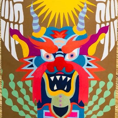 龍神カードの記事に添付されている画像