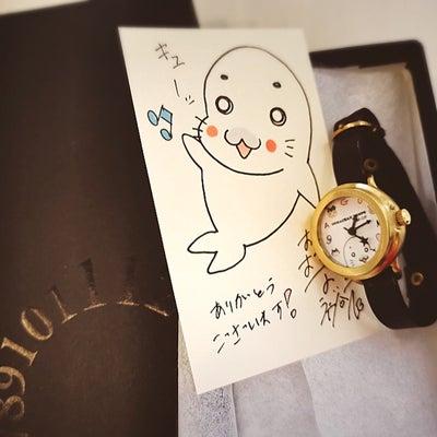 ゴマちゃんの時計の記事に添付されている画像
